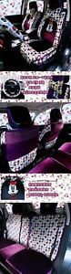 New Minnie Mouse Car Seat Covers Cushion Accessories Set