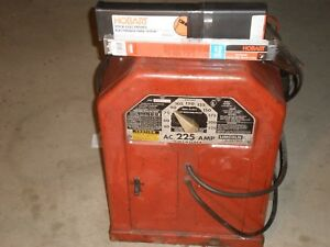 Lincoln Stick Arc Welder 225amp Ac 225 s 230vac 50amp Input Welding Machine Tool