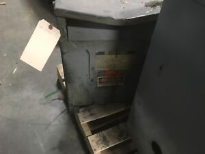 Square d 15kva Transformer 15s40h Hv 480 Lv 120 240 1ph 190lbs Dirty Dents
