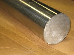4 Inch Diameter X 6 Inch Long 410 Stainless Steel Bar Solid 410 Stainless