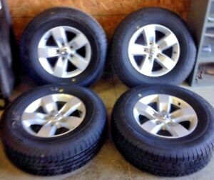 2017 17 Ram 1500 Oem Factory Wheels And Tires Rim 2448 New Take Off