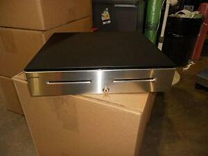 Radiant Systems Cd00035 Pos Cash Drawer With Money Till Lock key And Cable