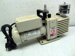 Welch Model 8905a 1 5 Directorr Vacuum Pump W Franklin 1603007402 Motor