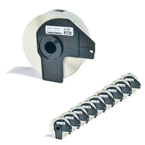 10 Roll Dk 1201 29mm White Address Label For Brother Ql 1060 Ql 720nw W 10 Frame