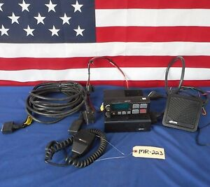 M a com Harris M7100ip Remote Head Two way Radio 800 Mhz W mic And Accessories