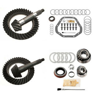 4 56 Ring And Pinion Gears Install Kit Package Dana 60 Rev Front 10 5 Rear