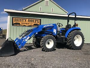 2015 New Holland Boomer 41 Compact Tractor Loader 41hp Low Hours Cheap Ship