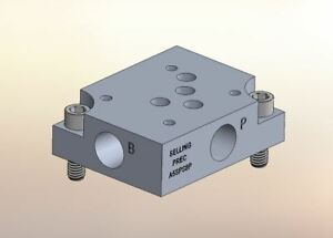 Hydraulic Manifold A5sps8p D05 Parallel Npt Ports Subplate Sideports