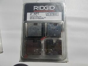 Ridgid 37850 2 Npt 12 r Pipe Threading Dies O r 11 r 111 r 30 a 31 a 00 r New L