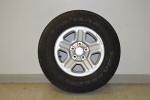 Jeep Wrangler Wheel And Tire P225 75r16 Set Of 5