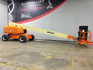 2010 Jlg 800s 500lb Pneumatic Telescopic Boom Lift Diesel Man Lift 4x4 Skypower
