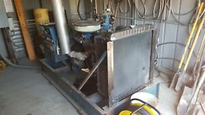Empire 45 Kw Generator 3 Phase 240v Natural Gas 1390 Hours