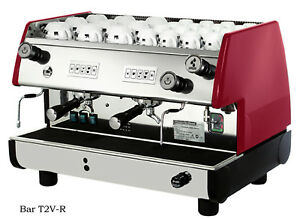 Commercial La Pavoni Espresso Machine Model Bar V2