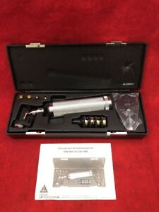 New Heine Otoscope And Ophthalmoscope Set In Case 6515 00 550 7199