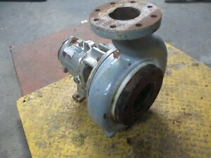 Durco 6x4 10h Mark 3 Iron Pump 4191032j Bronze Impeller Used