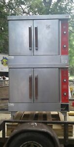 Vulcan Double Stack Gas Full Size Convection Oven Model Vc4gd 40