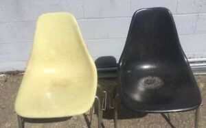 Vintage Pair Of Mid Century Modern Domon Office Chairs