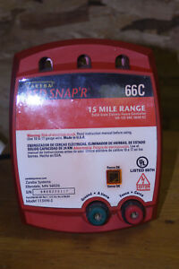 Zareba Red Snap r 66c 15 Mile Range Elec Fence Controller Model 115vhi 5 Used