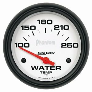 Auto Meter 5837 Phantom Electric Water Temperature Gauge