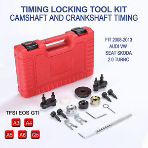 For Vag 08 13 Audi Vw 2 0 Turbo Timing Locking Tool Kit Seat 2 0t Timing Eos