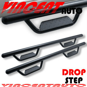 Fit 2005 2020 Toyota Tacoma Double Cab 3 Side Step Running Board Nerf Bar Hoop