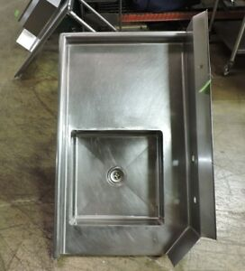 Commercial Stainless Steel Left sided Dishwasher Table With Sink 36 X 30