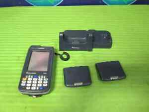 Intermec Cn3 Handheld Scanner Includes Charging Station And 2 Batteries