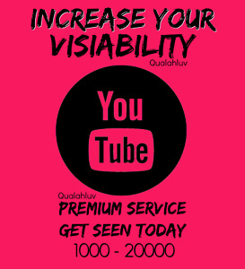 Premium Youtube Service Packages gain Exposure Promote Your Channel Safe
