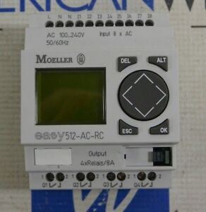 Moeller 512 ac rc Programmable Relay New
