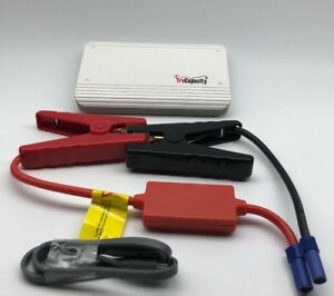 Emergency Auto Jump Starter Booster Power Bank Pack 8000mah 600 Peak Amps Led