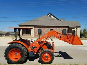 2009 Kubota M7040 4x4 With Loader And Canopy