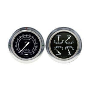 1954 55 Chevy Gmc Pickup Truck Gauges Electric 12v Hot Rod Custom Rat Lowrider