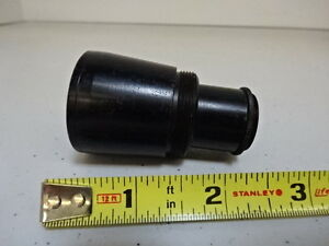 Antique Brass Lens Telescope Rare Optics As Is al 46