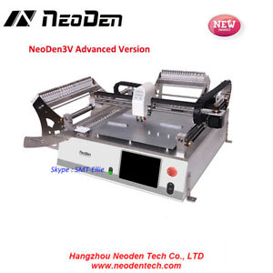 Neoden3v pm3040 Advanced 42 Feeder Small Smt Pick And Place Machine Line ew