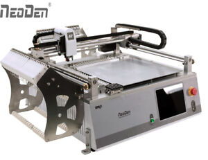 Visual Neoden3v Smt Smd Pick And Place Machine With 42 Feeders For Prototype j