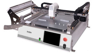 Smd Smt Desktop Pick And Place Machine Neoden3vwith Vision 23 Feeders j