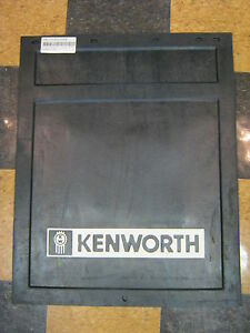 Black Rubber Kenworth Logo Mudflap 24 X 30 Buy As Many As You Need