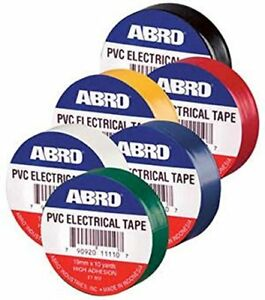 Abro Pvc Electric Tapes In Blue Color 30 Pcs pack Pack Of 2