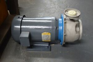 G l Sst c 80 Gpm 100 Tdh 5 Hp Stainless Steel Centrifugal Pump