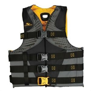 Stearns 2000013976 Infinity Men s Life Jacket Gold 2x 3x large New