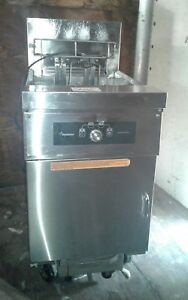 Frymaster Cf118ue Chicken And Fish Solid State Fryer With 80 Lb Oil Capacity