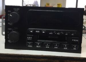 Factory Oem Buick Radio Am fm cassette Part Number 16201164