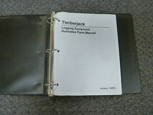 Timberjack 2618 2628 618 628 Feller Buncher Logging Equip Parts Catalog Manual