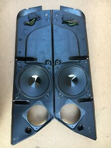 Porsche 968 944 Turbo S Door Panel Speaker System Plastic Frame With Speakers