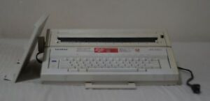 Brother Ax 250 Electronic Typewriter works