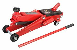 3 Ton Heavy Duty Steel Ultra Floor Jack Rapid Pump Show Car Lowrider