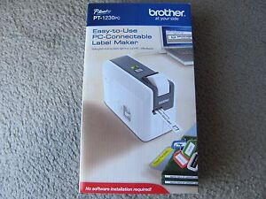 Brand New Brother Pt 1230pc Pc connectable Label Maker