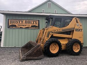 1998 Case 85xt Skid Steer Loader Skidloader Cummins Diesel Cheap Shipping Rates