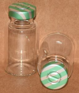 10 Ml Bb Clear Sterile Vial With Green Stripe Center Tear Seal Qty 50