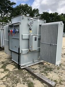 Cooper Substation Transformer 2000 Kva Primary 13800 Sec 480y 277 Three Phase